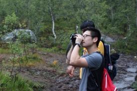 Yechan examining the roads
